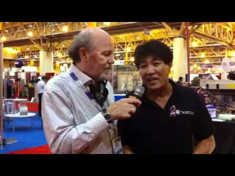 Scott Fresener interviews Peter Choi at SGIA 2011