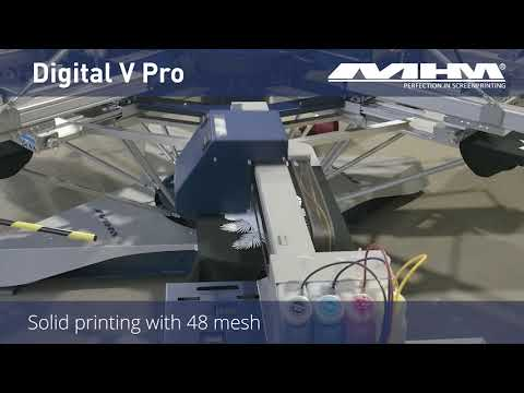MHM Digital V Pro – suitable for halftone printing as well as solid printing