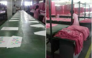 Line Table Screen Printer Factory in Madagascar