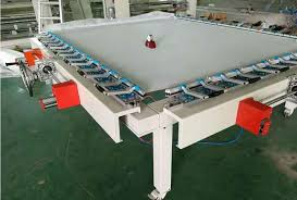 Automatic Streching for Screen Printing Mesh
