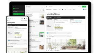 Evernotes Desktop and Mobile