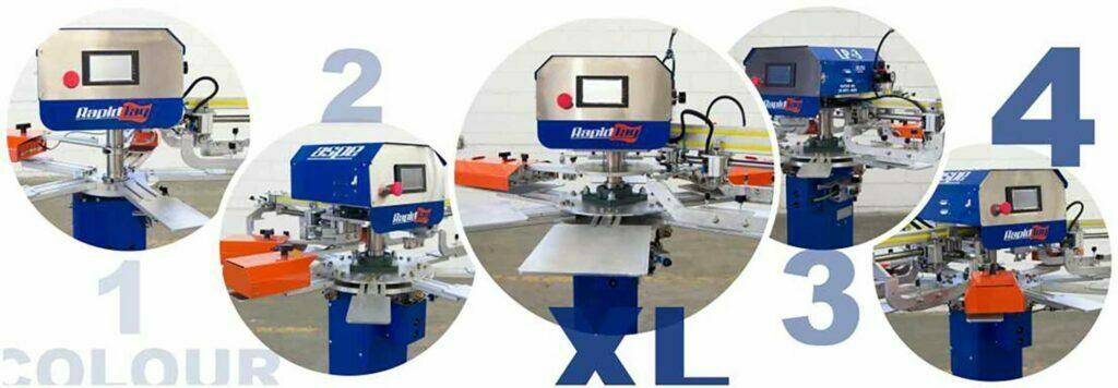Screen Printing Label Machine