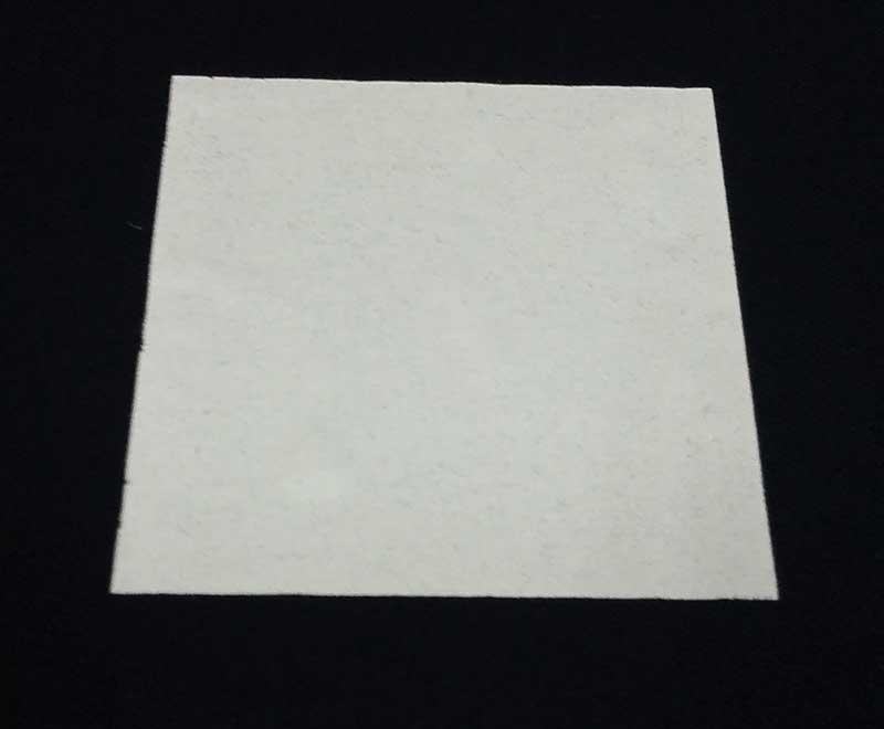 screen printed opaque white on dark t-shirt