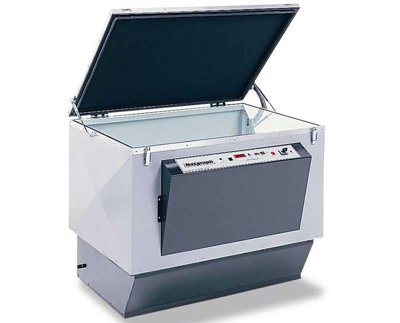 A classic Screen Printing Exposure Unit with Vacuum unit