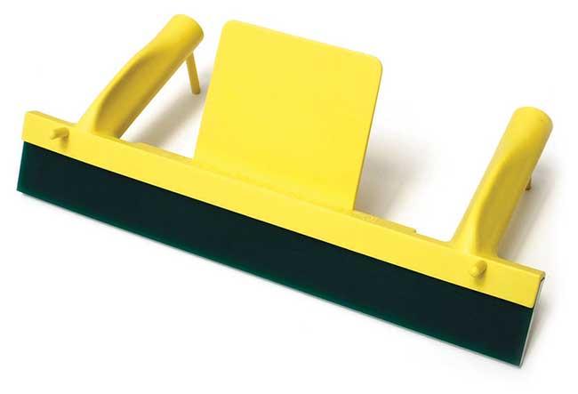 Plastic squeegee holder