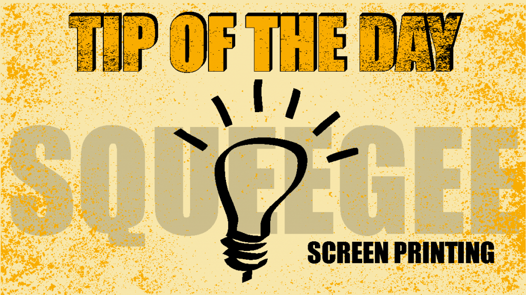 Tip of the Day Squeegee